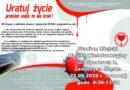 Zbiórka krwi 22 września