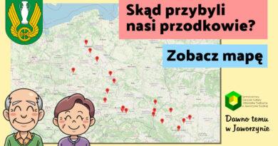Skąd przybyli nasi przodkowie? Mapa Jaworzyna Śląska