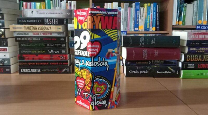 WOŚP puszka stacjonarna Biblioteka Jaworzyna Śląska