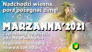 """Termin składania prac - """"Marzanna'2021"""" @ Centrum Aktywności Społeczno-Kulturalnej"""