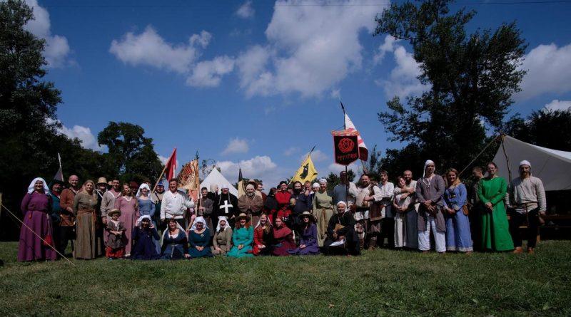 Średniowieczny obóz w Nowicach, otwarcie imprezy